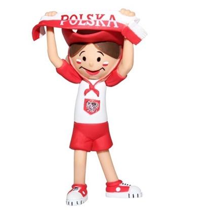 TISSOTOYS figurka Bolek kibic  9,2cm w kartoniku (11029)