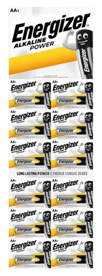 12 x bateria alkaliczna Energizer Alkaline Power LR6/AA (blister)