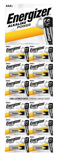 12 x bateria alkaliczna Energizer Alkaline Power LR03/AAA (blister)