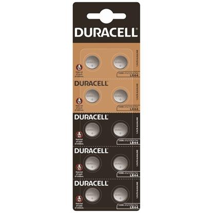 10 x bateria alkaliczna mini Duracell HSDC G13 / LR44 / A76 / L1154 / 157