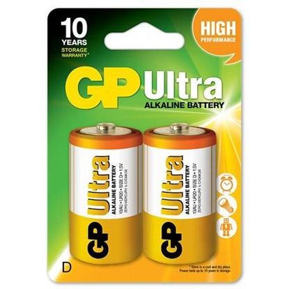 2 x bateria alkaliczna GP Ultra Alkaline LR20 / D