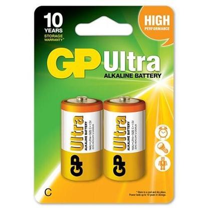 2 x bateria alkaliczna GP Ultra Alkaline LR14 / C