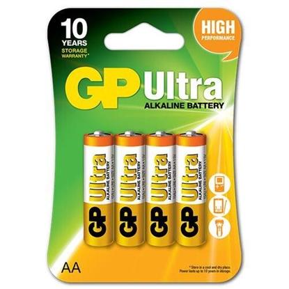 4 x bateria alkaliczna GP Ultra Alkaline LR6 / AA