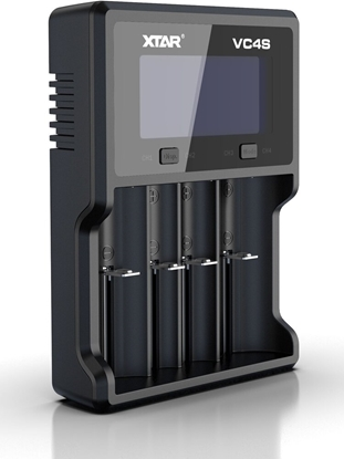 ładowarka do akumulatorów cylindrycznych Li-ion / Ni-MH / Ni-CD 18650 Xtar VC4S
