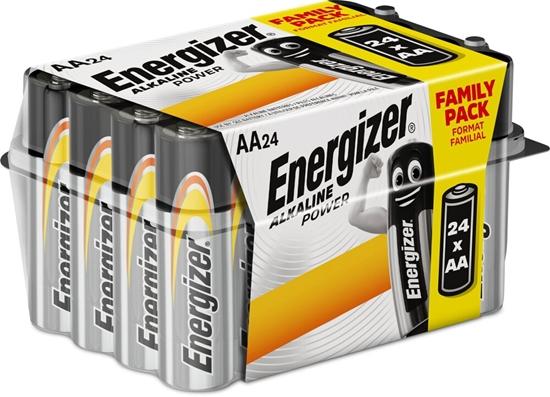 24 x bateria alkaliczna Energizer Alkaline Power LR6/AA (box) Family Pack