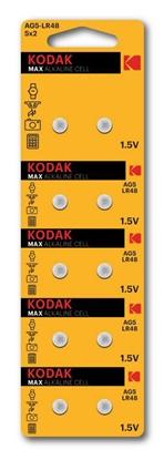 10 x bateria alkaliczna mini KODAK G5 / LR48 / AG5
