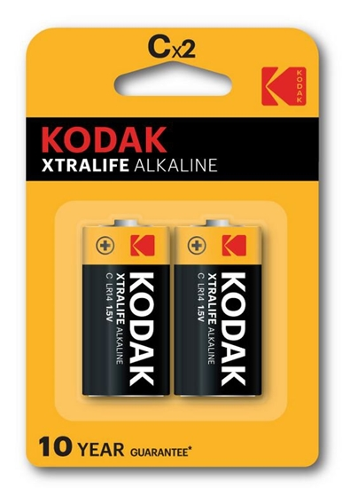 2 x KODAK Xtralife LR14 / C (blister)
