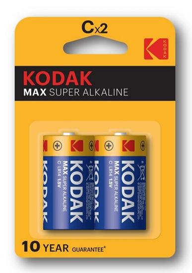 2 x KODAK Max Alkaline LR14 / C (blister)