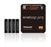 4 x akumulatorki Panasonic Eneloop PRO R03 AAA 930mAh BK-4HCDE (sliding pack)