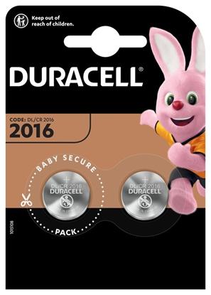 2 x bateria litowa mini Duracell CR2016 DL2016 ECR2016