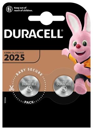 2 x bateria litowa mini Duracell CR2025 DL2025 ECR2025
