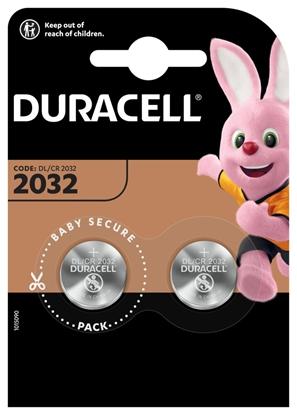 bateria litowa mini Duracell CR2032 DL2032 ECR2032 2BL - 2 sztuki