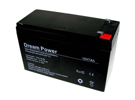 akumulator żelowy AGM Dream Power 12V 7Ah