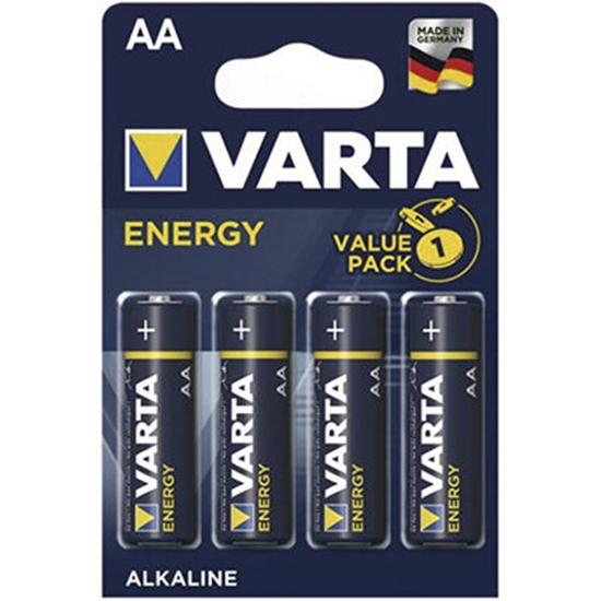 4 x Varta ENERGY LR6/AA Value Pack 4106