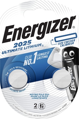 2 x bateria litowa mini Energizer Ultimate Lithium CR2025