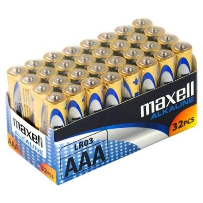 32 x bateria alkaliczna Maxell Alkaline LR03 / AAA