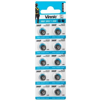 10 x bateria srebrowa mini Vinnic 395 / SR927SW / SR57