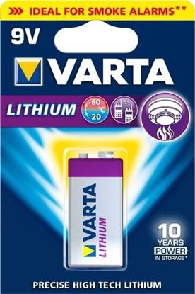 Varta Lithium 9V CR-V9 / L522 / LA522 / 6f22 6122