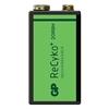 1 akumulatorek 6F22/9V GP ReCyko+ 200 Series 200mAh