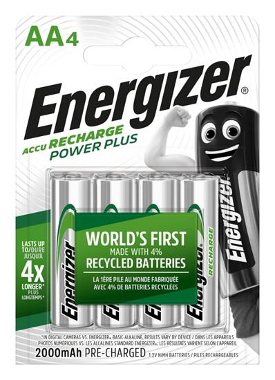 4 x akumulatorki Energizer R6/AA Ni-MH 2000mAh