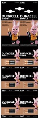 12 x bateria alkaliczna Duracell HDBC LR03 AAA (blister 6x2)