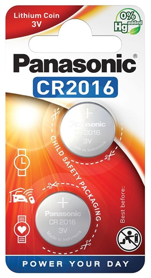 2 x bateria litowa mini Panasonic CR2016