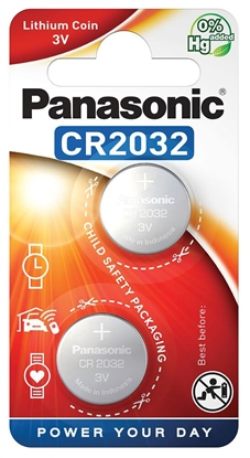 2 x bateria litowa mini Panasonic CR2032