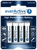 4 x baterie alkaliczne everActive Pro LR6 / AA (blister)