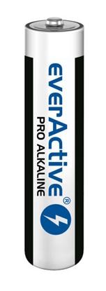 10 x baterie alkaliczne AAA / LR03 everActive Pro Alkaline (kartonik)