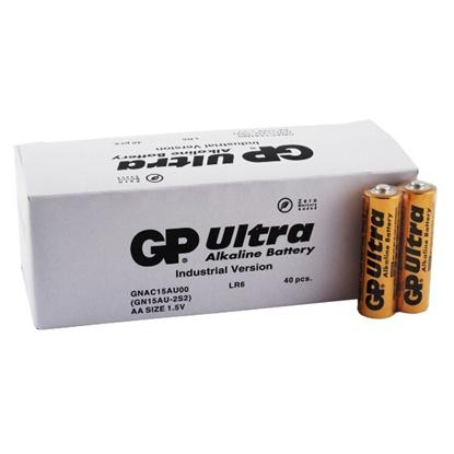 40 x bateria alkaliczna GP Ultra Alkaline Industrial LR6 / AA (karton)