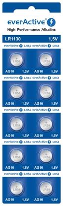 10 x bateria alkaliczna mini everActive AG10 G10 LR1130 LR54