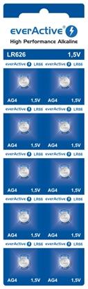 10x bateria alkaliczna mini everActive AG4 G4 LR626 LR66