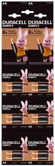 12 x bateria alkaliczna Duracell HDBC LR6 AA (blister 6x2)