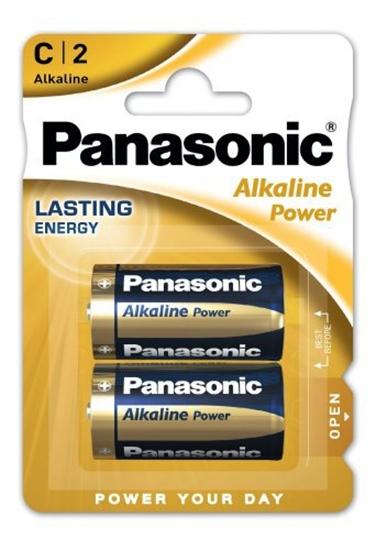 2 x Panasonic Alkaline Power LR14 / C (blister)