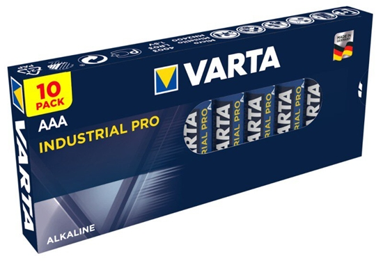 10 x Varta Industrial PRO LR03 AAA 4003