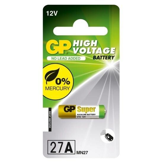 1 x bateria do pilota samochodowego GP 27A MN27