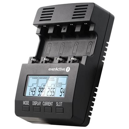 Ładowarka akumulatorków Ni-MH profesjonalna everActive NC-3000