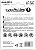 4 x akumulatorki everActive R03/AAA Ni-MH 1050 mAh ready to use