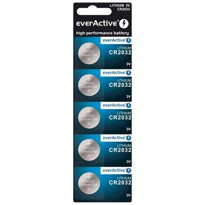 5 x bateria litowa mini everActive CR2032