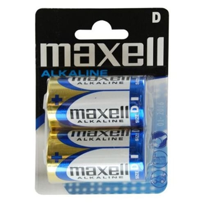 2 x bateria alkaliczna Maxell Alkaline LR20 / D
