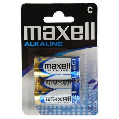 2 x bateria alkaliczna Maxell Alkaline LR14 / C