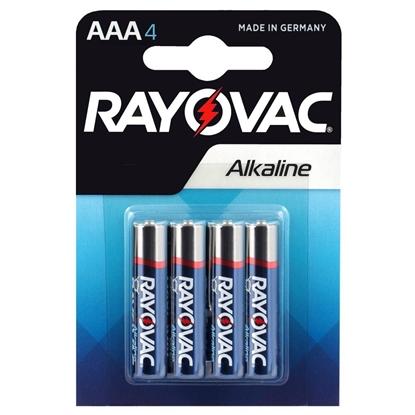 4 x Rayovac Alkaline LR03 / AAA