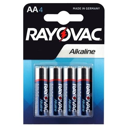 4 x Rayovac Alkaline LR6 / AA