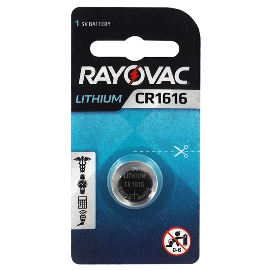 bateria litowa Rayovac CR1616