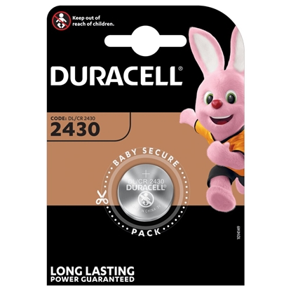 bateria litowa mini Duracell CR2430 DL2430 ECR2430
