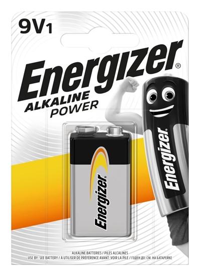 bateria alkaliczna Energizer Alkaline Power 6LR61/9V (blister)