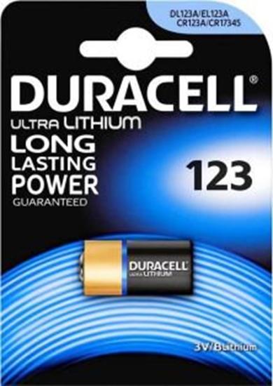 bateria foto litowa Duracell CR123