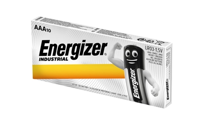 10 x bateria alkaliczna Energizer Industrial LR03 AAA