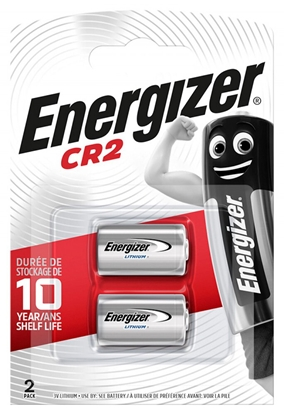 2 x bateria foto litowa Energizer CR2