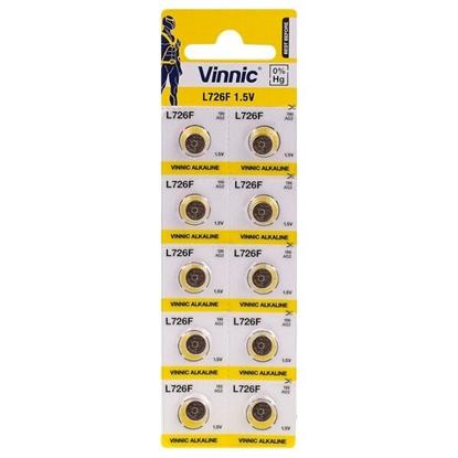 10 x bateria alkaliczna mini Vinnic G2 / AG2 / L726 / SR726 / LR59 / SR59 / 396 / 556 / 29 / RW411